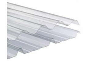 Profiled polycarbonate sheet UV