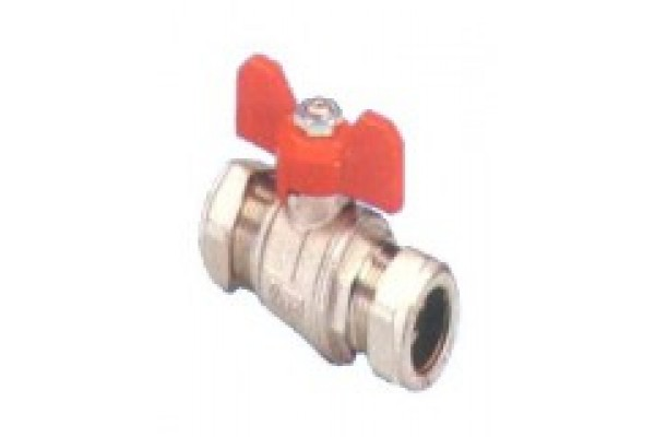 bicone / bicone ball valve - butterfly