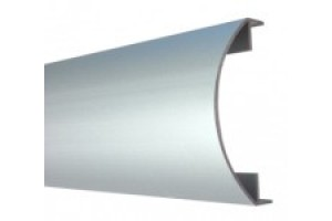 Profile curved terminal for glass block