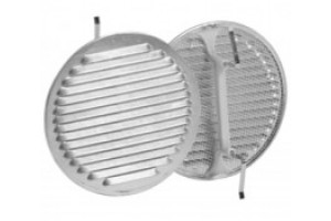 ventilation grill in alumnium with spring