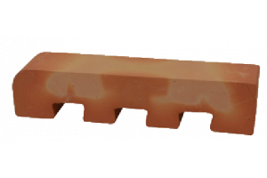 curved toothing brick