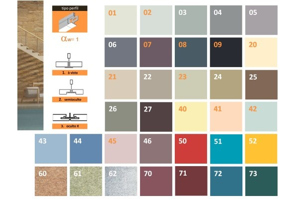 ceiling rockfon   -  color-all