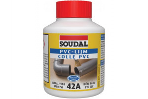 pvc adhesive - with pressure  soudal 42A