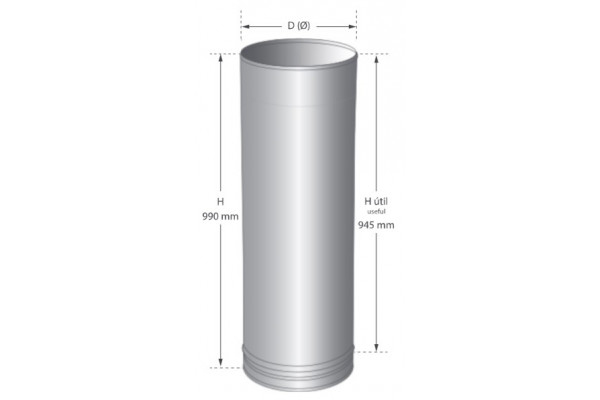 stainless steel plain single wall stainless steel