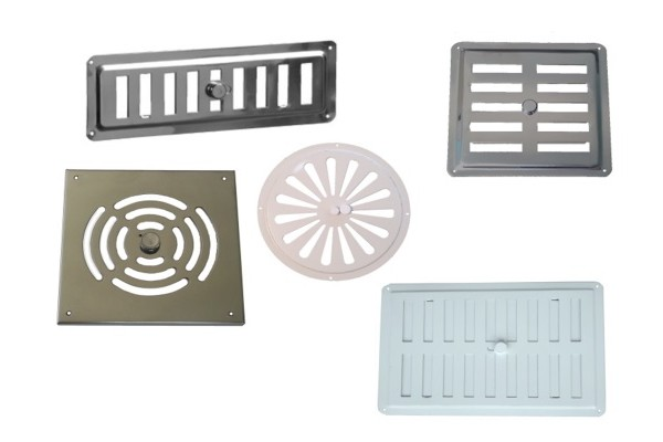 Adjustable Grilles stainless