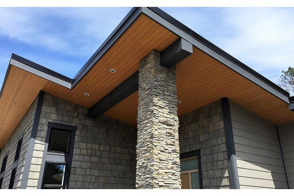 coated ceiling - pvc - exterior