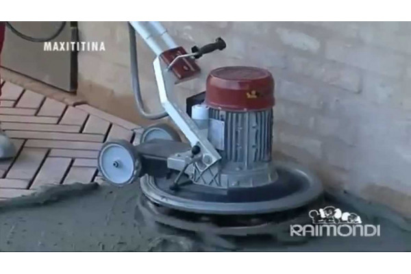 rotating machine with car