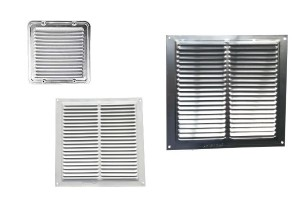 Square metal grille