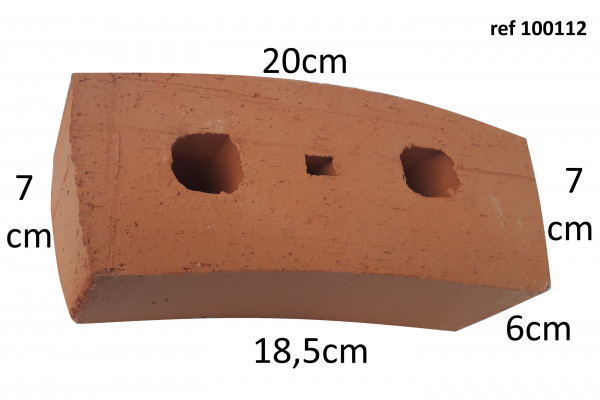 curved brick for oven