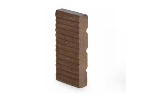 footer board - thermoplastic light wood