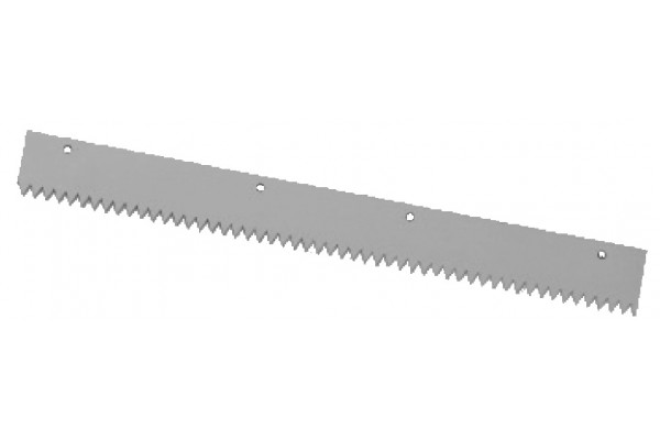 toothed rubber squeegee support