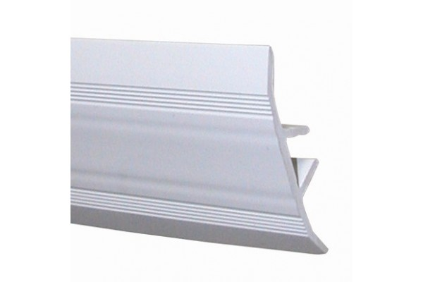 cover joints profile - white