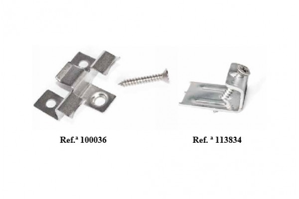 clip and screw fixation