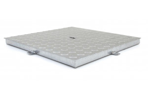 rasa lid anti-slip, with rim - galvanized steel
