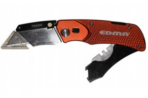 foldable safety knife with holster