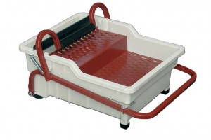 tray with drainer
