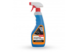 auto rinse aid - tires and plastic