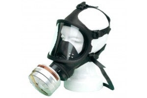 full-vision gas mask