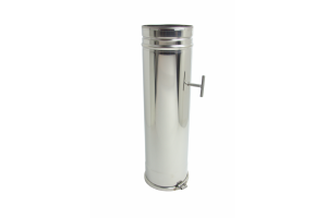 single wall plain stainless steel registration tube