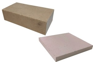 bricks and tiles refractory pressed white