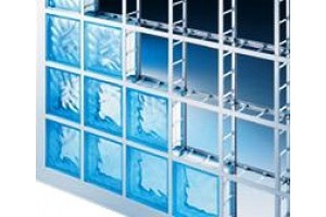 profile for glass blocks (A+B+C)