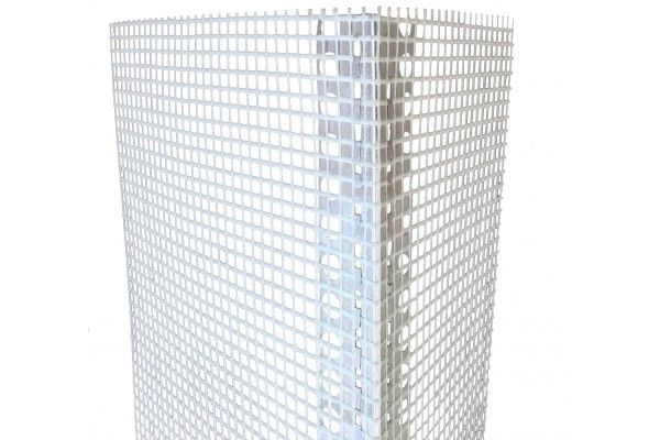 corner bead - aluminium with mesh
