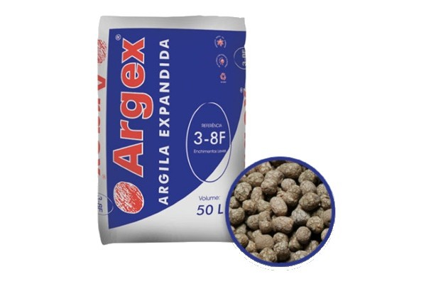 expanded clay   3-8F
