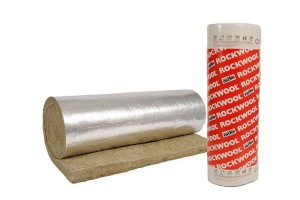rock wool - roll with aluminum