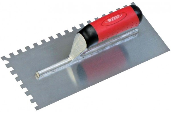 stainless Notched trowel